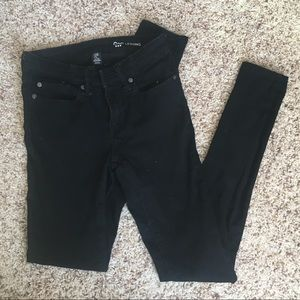 Black gap leggings size 2